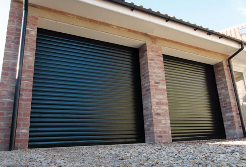 Gliderol Insulated Automated Roller Garage Door Height 8ftproducts